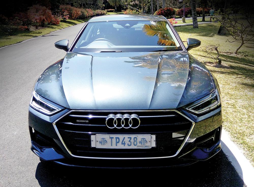 Élégante et magnifiquement brutale cette Audi A7 Hatchback