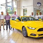 La Ford Mustang sur les routes mauriciennes