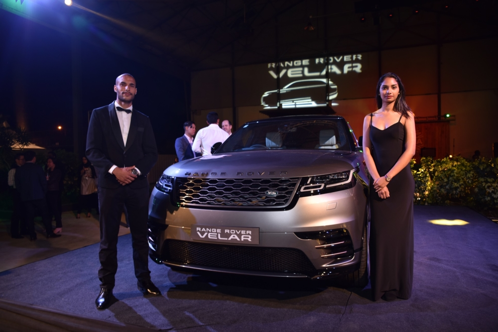 Axess dévoile le Range Rover Velar