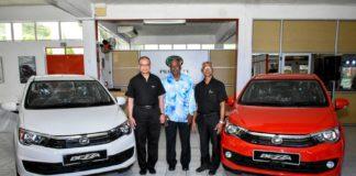 Le modèle Bezzua de Perodua