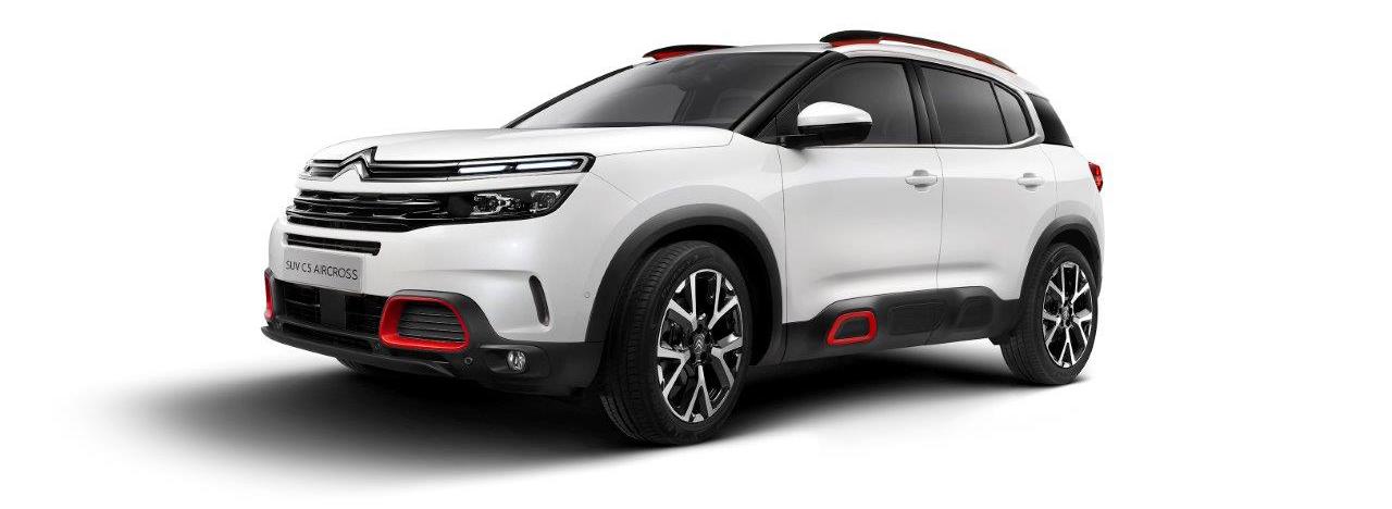 Le SUV C5 Aircross Citroën présenté par Axess