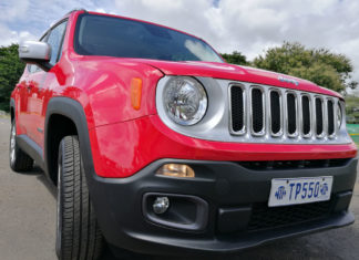 Le SUV Jeep Renegade